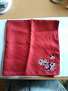 新品 風呂敷 ふろしき フロシキ フラワー 花 レッド 赤