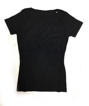 正規未使用ボッシュ半袖Tシャツブラック黒レディーストッ
