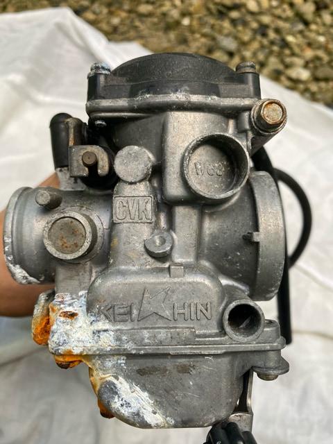 Kawasaki  KEIHIN ZRX400?純正キャブレターc vK K-TRIK < 自動車/バイク