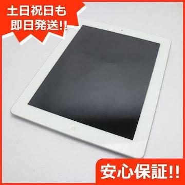 ●判定○●美品●iPad第3世代Wi-Fi+cellular64GB ホワイト●