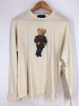 RALPH LAUREN(ラルフローレン)ポロベアカットソークルーネックTシャツ