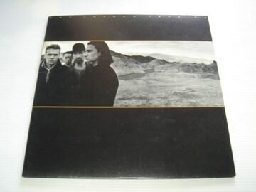 U2 ユートゥー THE JOSHUA TREE ヨシュア・トゥリー LPレコード
