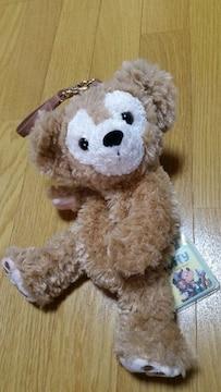 未使用タグ付き ディズニーシー ダッフィー ぬいぐるみポーチ 初代 レア
