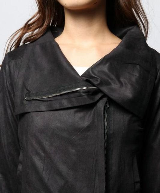 定価8,100円【新品】SPIRALGIRL レザーライクカットジャケット < ブランドの