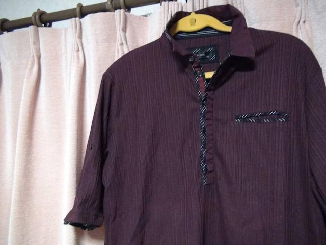 NOTA BENEのポロシャツ(LL)ブラウン!。 < 男性ファッションの