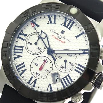サルバトーレマーラ腕時計 メンズ SM18118-SSWH