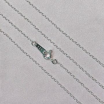 極細あずきネックレス 40cm Silver925