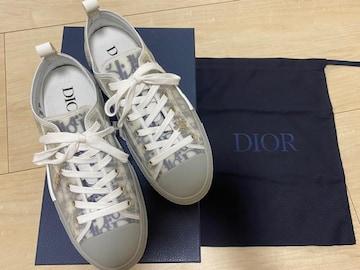 美品 DIOR ディオール メンズ スニーカー 靴 40