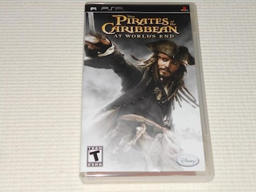 PSP★PIRATES OF THE CARIBBEAN AT WORLD'S END