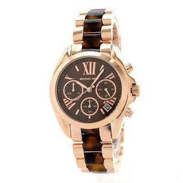 Michael Kors 腕時計 レディース MK5944 ブラウン べっ甲