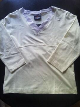 新品 newbalance女性用ウェア(M)白・7分袖