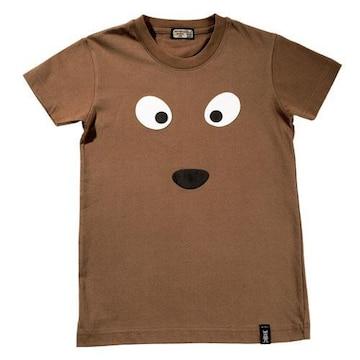 ¢訳有 韓国・香港で大人気のPETS@WORK T-Shirt ブラウン