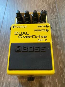 Boss SD-2 DUAL Overdrive ボス デュアル オーバードライブ 廃盤