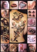 刺青 参考本 紋身大家族<18>小図柄
