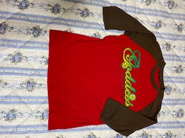 赤&茶TシャツM