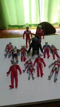 ☆ウルトラマン人形セット