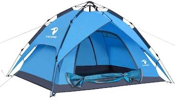 テント ワンタッチテント 2WAY テント 3〜4人用