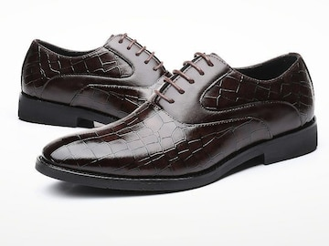 29.0 クロコ ドレスシューズ 靴 トンガリ メンズ ヤクザ オラオラ お兄系 ホスト 119 赤