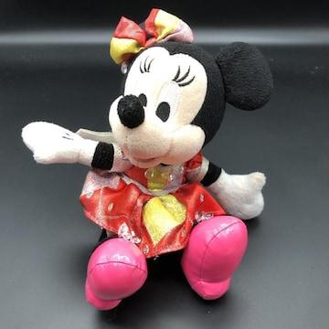 即決 Disney ディズニーランド ミニー ぬいぐるみ