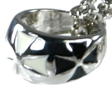 エボクロスリングネックレス シルバー
