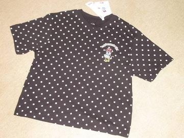 未使用タグ付☆ミニーマウス*ラブズドットグラフィックTシャツ
