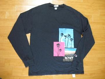 PACSUN パクサン x チャンピオン ロング Tシャツ L