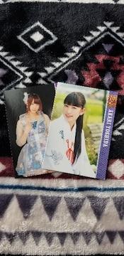 NMB48 吉田朱里、高野祐衣  トレカ  AKB48