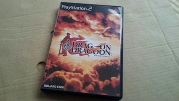 PS2☆ドラッグ オン ドラグーン☆状態良い♪SQUARE ENIX。