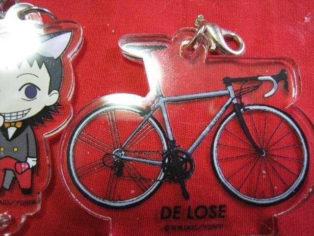 レア限定 弱虫ペダル 御堂筋翔と自転車 つながるアクリルチャーム 非売品 新品 中古のオークション モバオク