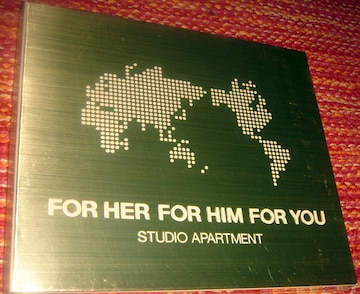 Studio Apartment - FOR HER,FOR HIM,FOR YOU 名盤 CD