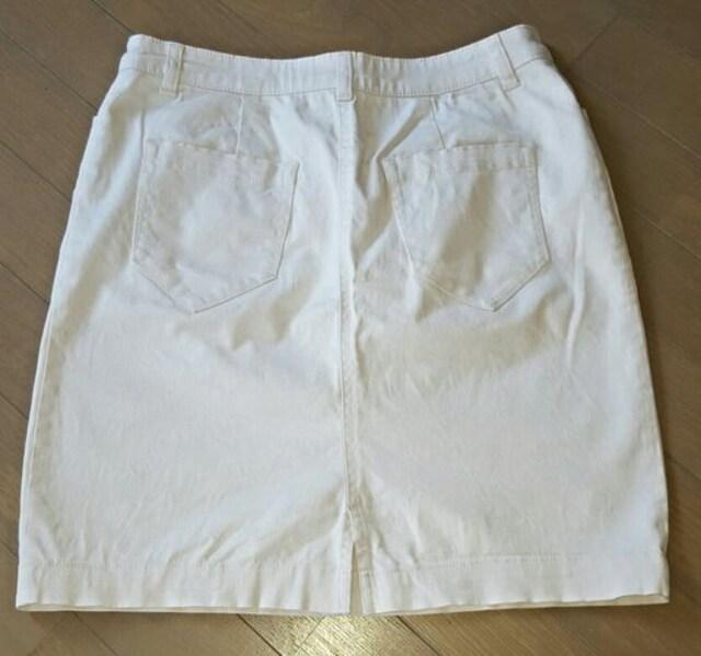 【カジュアルスタイル★2点セット】#白#スカート#チェック#春服 < ブランドの