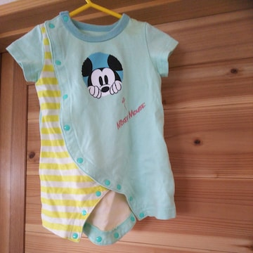 ミッキーマウス★ディズニーベビー服♪60サイズ★ベルメゾン