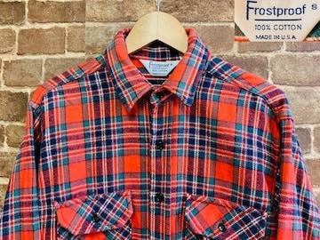 実寸XL/USA製!80's ビンテージ ヘビーネルシャツ 古着 ネルシャツ ラギッドスタイル