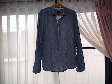 H&Mのポロシャツ(L)グレー!。
