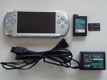 ゲーム機本体[PSP]PSPー3000 シルバー