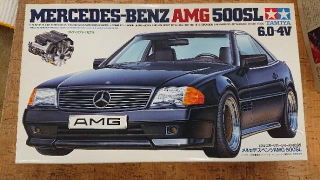 タミヤ1/24 メルセデスベンツ AMG 500SL 6.0-4V  < ホビーの
