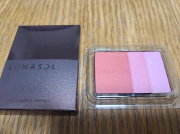 ルナソルLUNASOL新品カラーリングチークスレフィル02RadishPink頬紅詰め替え