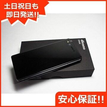 ◆安心保証◆新品未使用◆Z-01K ブラック◆本体 白ロム◆