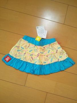 新品カラフルPOPスカート90水色★ベビドBABYDOLLベビードール