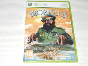 xbox360★TROPICO 3 海外版(国内本体動作可能)