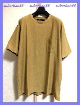今期超美品☆ポケ付ドロップショルダーオーバーサイズTシャツ3L