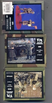 1/35 レジン製ソ連兵 3箱セット