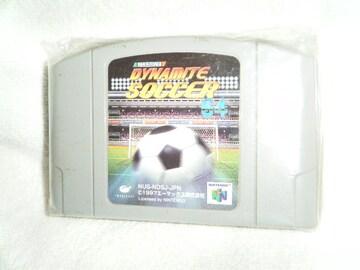 Jリーグダイナミックサッカー64(NINTENDO 64用)