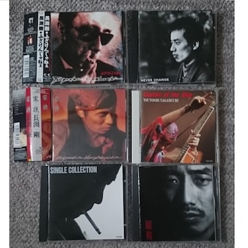 KF  長渕剛  CD アルバム 6タイトル セット