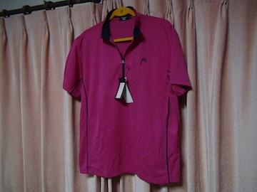 HEADのポロシャツ(LL)ショッピングピンク新品タグ付き!。