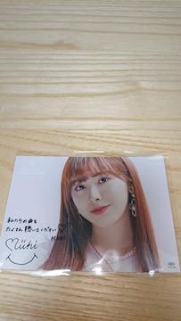 niziu ミイヒ miihi  HMV メッセージカード 1枚 take a picture
