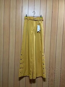 新品タグ付きJouetie★裾ボタン付きワイドパンツ