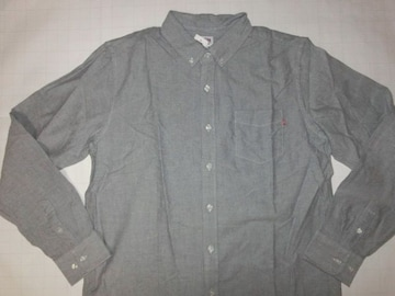 USA購入【OBEY】オベイ シンプルデザイン ダンガリーシャツUS L