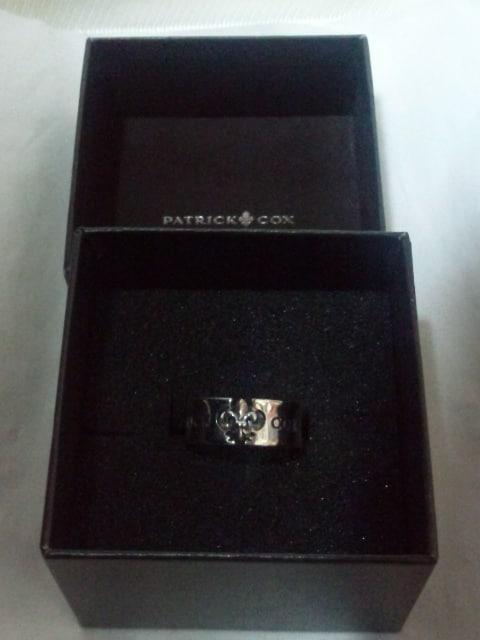 パトリックコックス【PATRICK COX】925シルバー ユリの紋章リング ロゴ リング 13号 < ブランドの