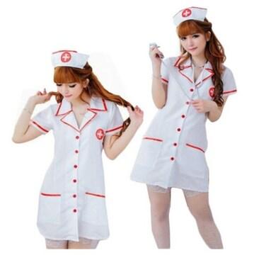 コスプレ ナース服 ホワイト